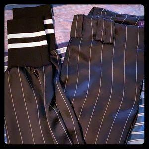 Ralph Lauren silk jogger pants